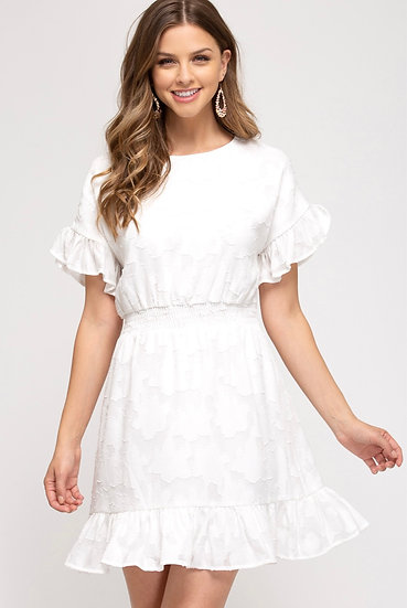 It's Your World White Dress