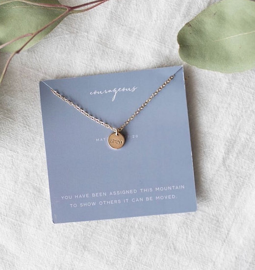 Courageous Necklace