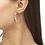 Thumbnail: Lila Vintage Gold Hoop Earrings In Gold Pastel Shells