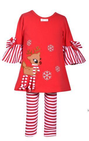 Snowflake Reindeer Set (Bonnie Jean)