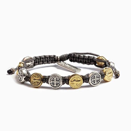 Benedictine Blessing Bracelet - Mixed Metals