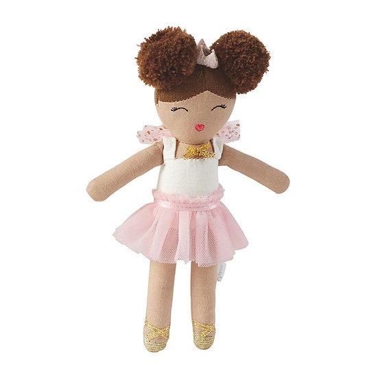Pink Tutu Plush Ballerina Rattle