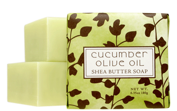 Cucumber Olive Oil Small Soap - 1.9 oz
