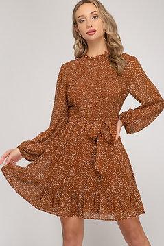 Holland Dress - Rust