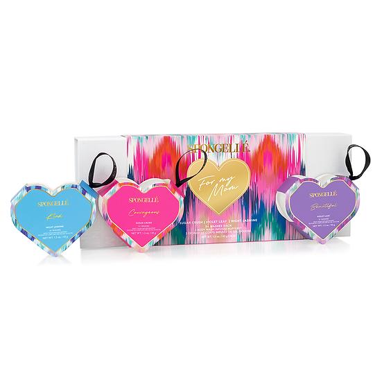 Three Hearts - Gift Set #2   Night Jasmine, Violet Leaf, and Sugar Crush