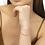 Thumbnail: Lila Vintage Gold Stretch Bracelet in Pastel Shells
