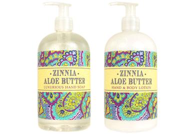 Zinna Aloe Butter Hand Soap / Lotion