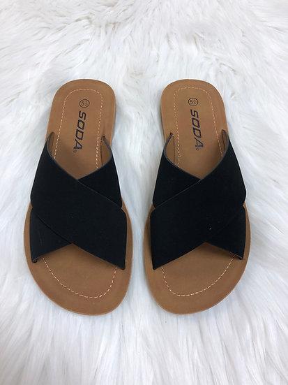 The Lucinda Sandal - Black