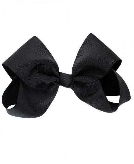 Black Hair Clip Bow