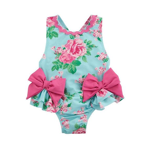 Garden Rose Bow Swimsuit