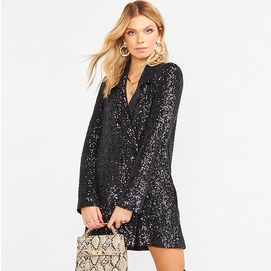 Bazel Blazer Dress (Show Me Your Mumu)