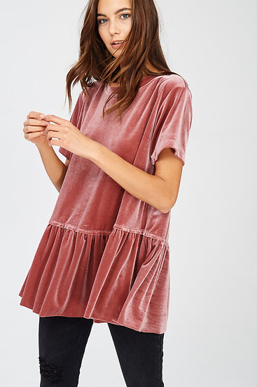 Make It Nice Top -  Mauve