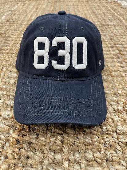 830 - New Braunfels - Navy Cotton Hat