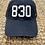 Thumbnail: 830 - New Braunfels - Navy Cotton Hat