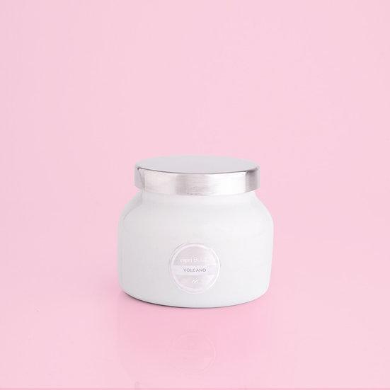 Volcano White Petite Jar, 8 oz