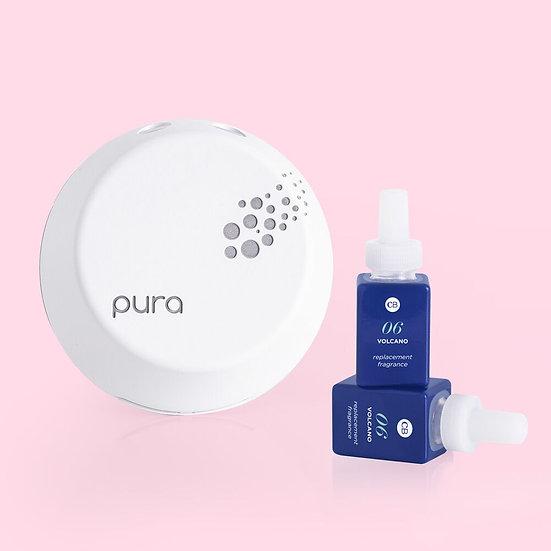 Capri Blue + Pura Smart Home Diffuser Kit, Volcano