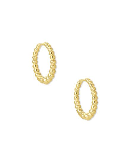 Josie Huggie Earring Gold Metal