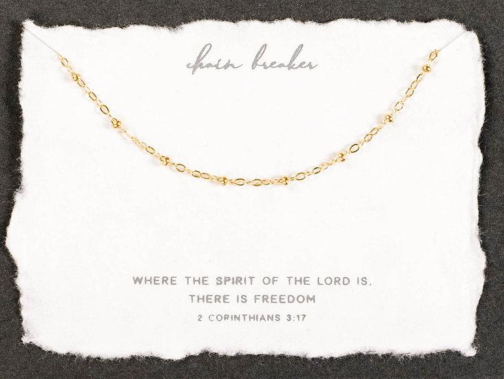 Chain Breaker Necklace
