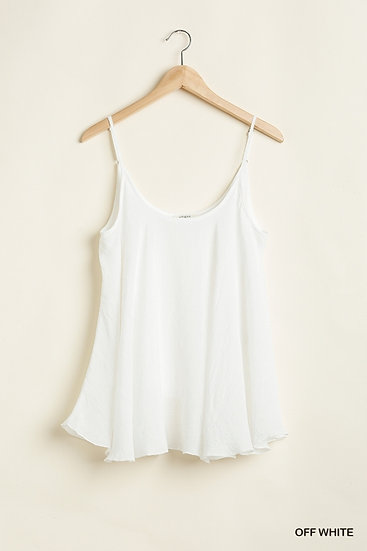 No Limits Off White Tank