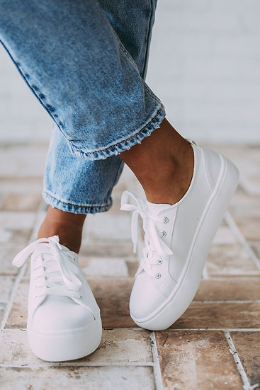 Dream Sneaker - White