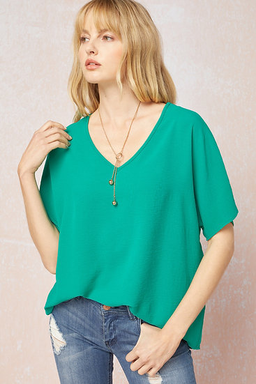 Don't Wait Classic Top - Kelly Green