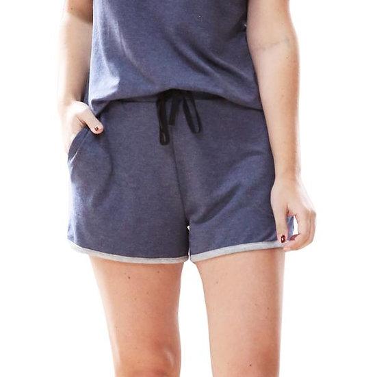 The Weekender Shorts - Denim Blue