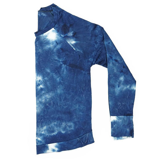 Dyes The Limit Lounge Top - Navy
