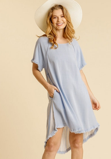 Tell Your Story Light Blue Dress