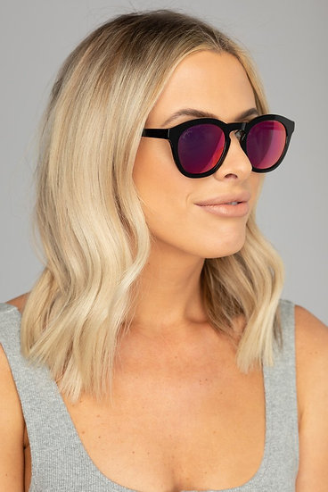 Val Acetate Framed Pink Sunglasses (Buddy Love)