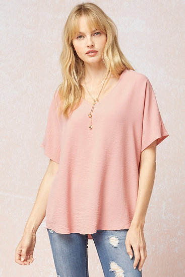 Don't Wait Classic Top - Pink