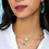 Thumbnail: Threaded Elisa Gold Pendant Necklace In Mint Magnesite