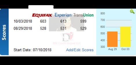 10.03.18 (1) DIY Credit - Credit Repair Results