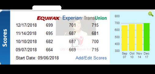 12.17.18 (3) DIY Credit - Credit Repair Results
