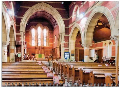 Inside St. Mark's Church