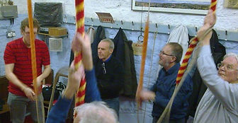 Church Bell ringers, ringing, campanology