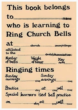 Pam Copson, One Per Learner, Ringers' Exercise book, ringing books