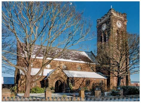 Winter at St Mark's