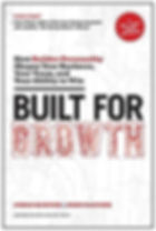 Book cover for Built For Growth by John Danner