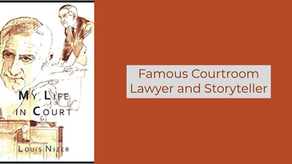 Book Review: Famous Courtroom Lawyer and Storyteller