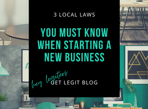 Small Business and Side Hustles: 3 Local Laws You Must Know When Starting a New Business
