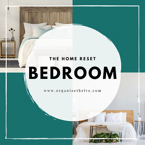 Bedrooms (from The Home Reset)
