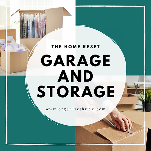 Garage and Storage (from The Home Reset)