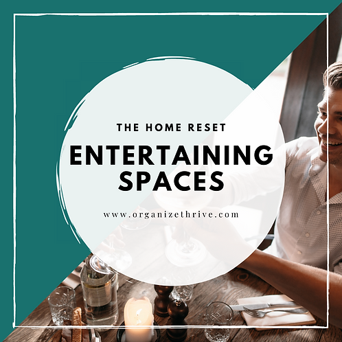 Entertaining Spaces (Living, Dinning, Kitchen)