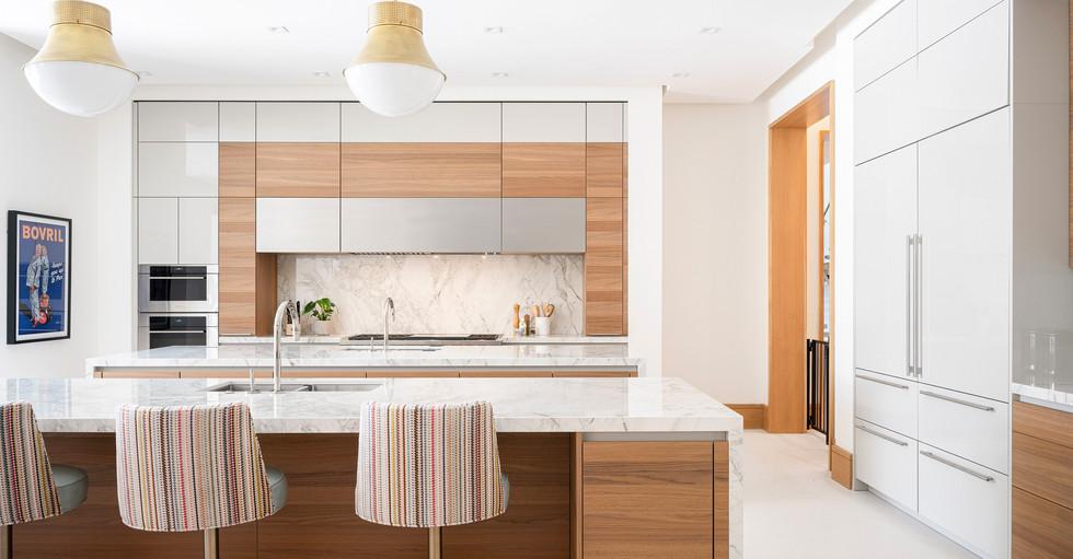 Elegant modern kitchen.