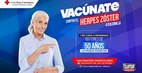 Soy Adulto Responsable, Mi Héroe Soy Yo, por eso me vacuno contra la ''culebrilla'' Herpes Zóster
