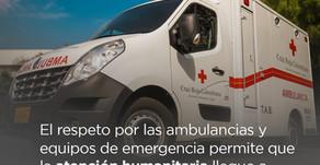 Cruz Roja siempre dispuestos para salvar vidas #NoSomosUnObjetivo