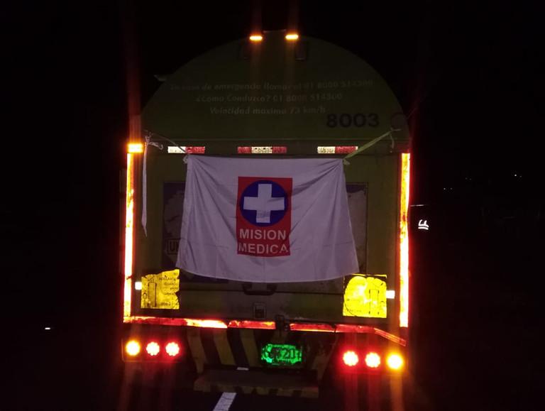 La Cruz Roja facilita corredor humanitario en medio de protestas