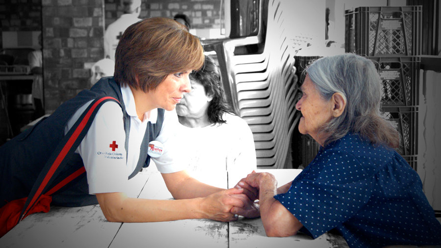 Damas Grises Cruz Roja