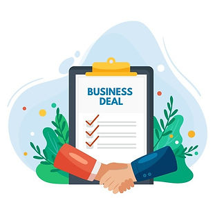 hand-drawn-business-deal-concept_23-2148