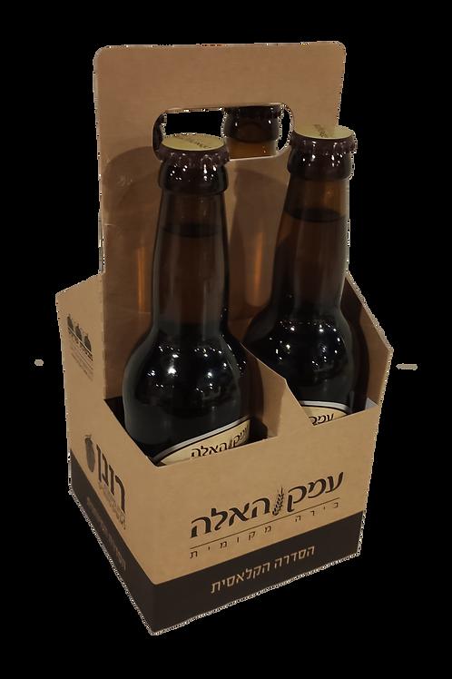 רביעיית בקבוקי בירה רונן/עמק האלה